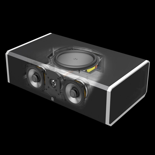 Caixa Acústica Central Definitive Technology CS9040 (UNIT)