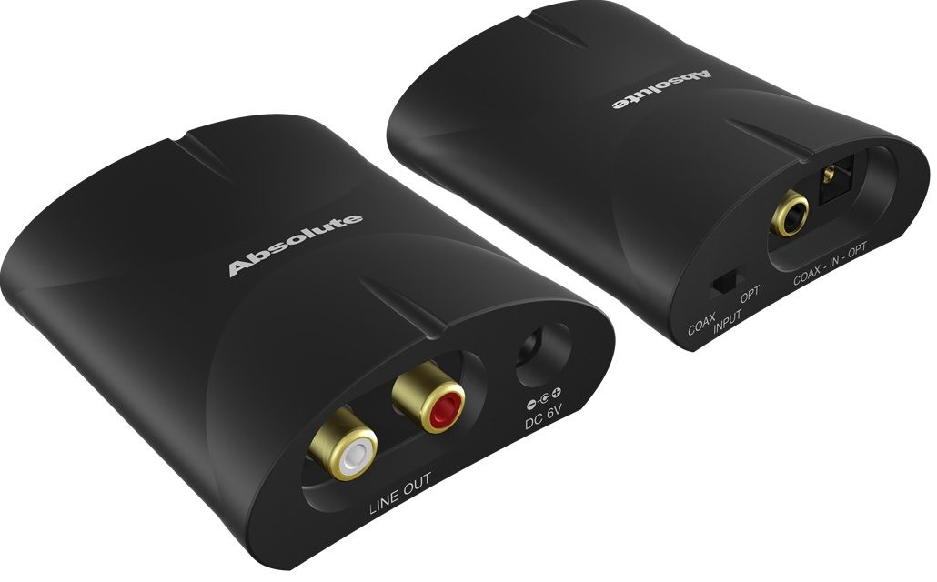 Coax Toslink to Analog Converter NDS-DA21