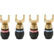 Conector Spades Monster QuickLock para cabo de caixa - Kit c/ 2 pares