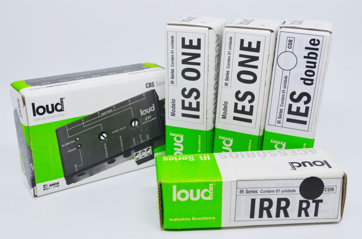 Kit IR System: Connecting Block + Emissores de IR + Repetidor IR - LOUD